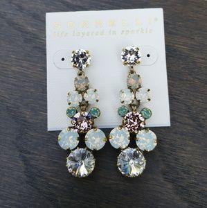 """White Magnolia"" SORRELLI Earrings"
